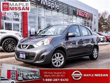 2018 Nissan Micra SV Style|Alloys|Bluetooth|Keyless Entry (Stk: UM1632) in Maple - Image 1 of 20
