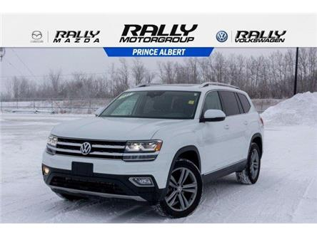 2018 Volkswagen Atlas 3.6 FSI Highline (Stk: V1127) in Prince Albert - Image 1 of 11