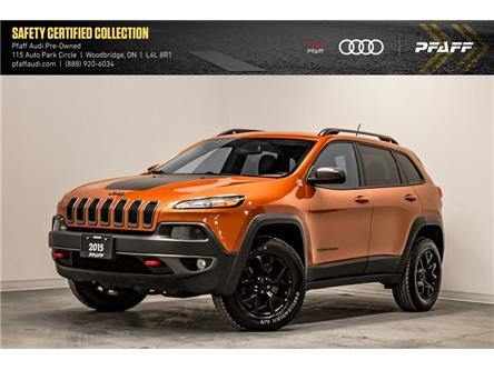 2015 Jeep Cherokee Trailhawk (Stk: C7139AA) in Woodbridge - Image 1 of 22