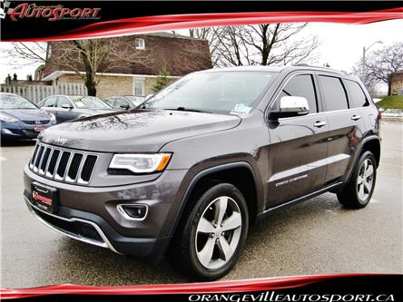 2016 Jeep Grand Cherokee Limited (Stk: 1533) in Orangeville - Image 1 of 28