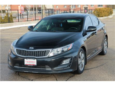 2014 Kia Optima Hybrid EX Premium (Stk: 1911577) in Waterloo - Image 1 of 28