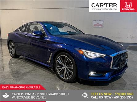2017 Infiniti Q60 3.0T (Stk: B11800) in Vancouver - Image 1 of 22