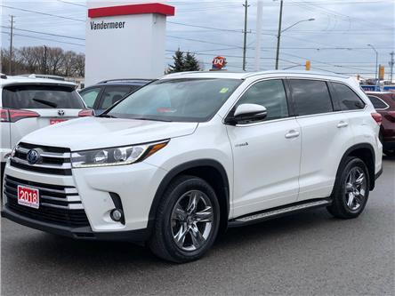 2018 Toyota Highlander Hybrid Limited (Stk: W4945) in Cobourg - Image 1 of 27