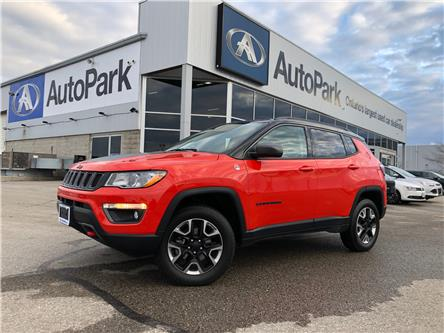 2018 Jeep Compass Trailhawk (Stk: 18-12492RJB) in Barrie - Image 1 of 28