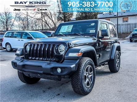 2019 Jeep Wrangler Sport (Stk: 197595) in Hamilton - Image 1 of 14