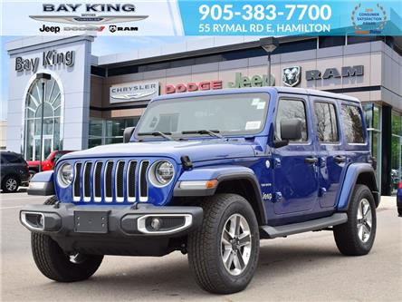 2019 Jeep Wrangler Unlimited Sahara (Stk: 197659) in Hamilton - Image 1 of 30