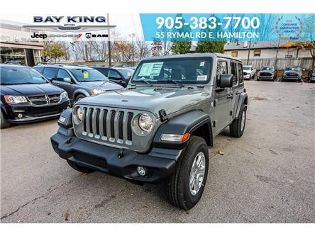2020 Jeep Wrangler Unlimited Sport (Stk: 207518) in Hamilton - Image 1 of 18