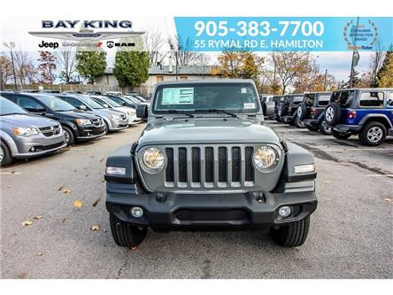 2020 Jeep Wrangler Unlimited Sport (Stk: 207518) in Hamilton - Image 2 of 18