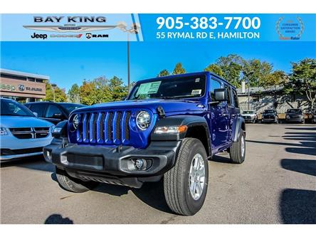 2020 Jeep Wrangler Unlimited Sport (Stk: 207522) in Hamilton - Image 1 of 22