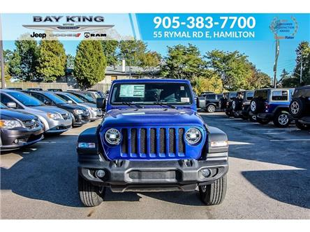 2020 Jeep Wrangler Unlimited Sport (Stk: 207522) in Hamilton - Image 2 of 22