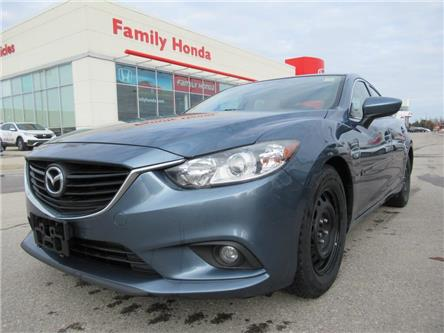 2014 Mazda MAZDA6 4dr Sdn 2.5L Auto GS | HEATED LEATHER SEATS | WOW! (Stk: 105835T) in Brampton - Image 1 of 21