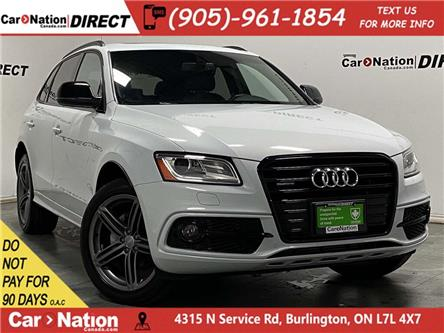 2017 Audi Q5 2.0T Technik (Stk: L059A) in Burlington - Image 1 of 39