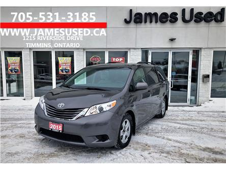 2015 Toyota Sienna LE 8 Passenger (Stk: P02723) in Timmins - Image 1 of 15