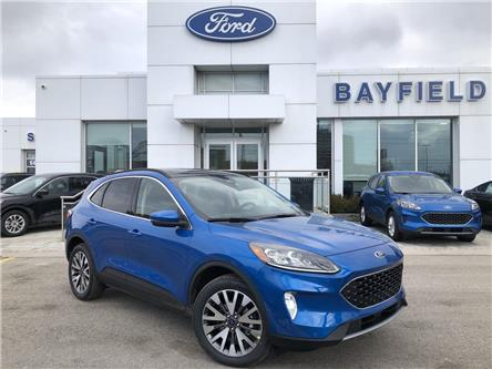 2020 Ford Escape Titanium Hybrid (Stk: ES20192) in Barrie - Image 1 of 28