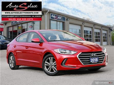 2018 Hyundai Elantra GL SE (Stk: 1RGE979) in Scarborough - Image 1 of 29