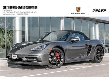 2019 Porsche 718 Boxster GTS PDK (Stk: U8419) in Vaughan - Image 1 of 22