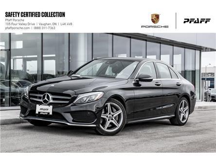 2017 Mercedes-Benz C300 4MATIC Sedan (Stk: U8460) in Vaughan - Image 1 of 22