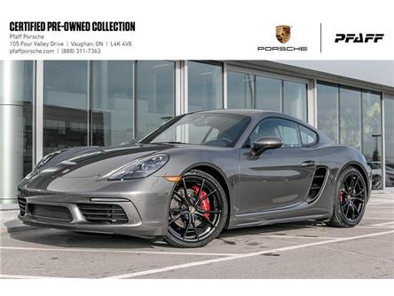 2019 Porsche 718 Cayman S PDK (Stk: U8463) in Vaughan - Image 1 of 22