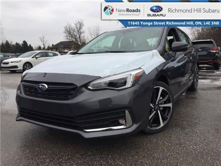 2020 Subaru Impreza 5-dr Sport-tech w/Eyesight (Stk: 34208) in RICHMOND HILL - Image 1 of 23