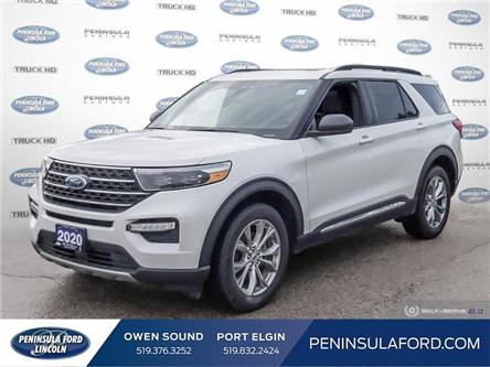 2020 Ford Explorer XLT (Stk: 20EX07) in Owen Sound - Image 1 of 23