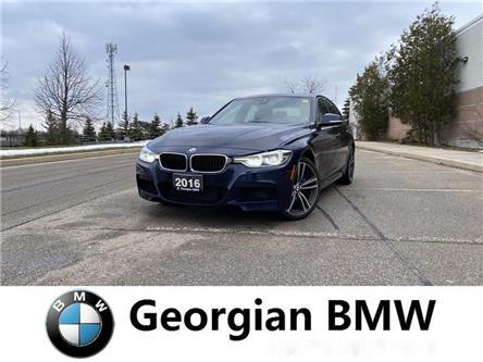 2016 BMW 340i xDrive (Stk: B19222-1) in Barrie - Image 1 of 14