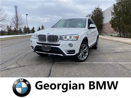 2017 BMW X3 xDrive28i (Stk: B19299-1) in Barrie - Image 1 of 12