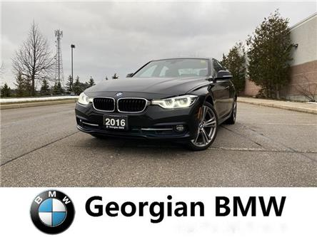 2016 BMW 328i xDrive (Stk: M19042-1) in Barrie - Image 1 of 14
