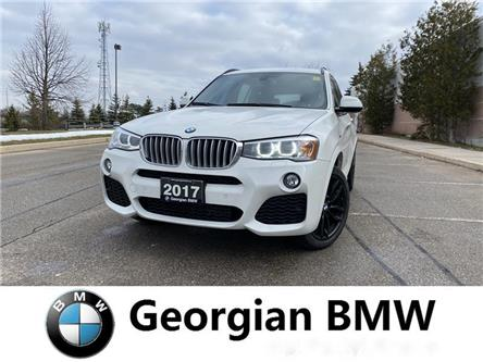 2017 BMW X3 xDrive28i (Stk: P1549) in Barrie - Image 1 of 13