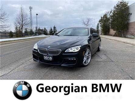 2016 BMW 650i xDrive Gran Coupe (Stk: P1550) in Barrie - Image 1 of 14
