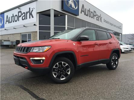 2018 Jeep Compass Trailhawk (Stk: 18-17218RJB) in Barrie - Image 1 of 29