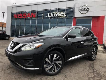 2015 Nissan Murano Platinum | CPO | NO ACCIDENTS (Stk: P0622) in Mississauga - Image 1 of 15