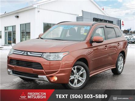 2014 Mitsubishi Outlander GT (Stk: 191425A) in Fredericton - Image 1 of 26