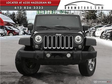 2016 Jeep Wrangler Unlimited Sahara (Stk: 6000) in Stittsville - Image 2 of 27
