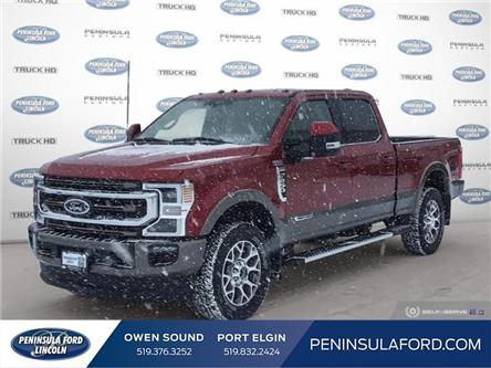 2020 Ford F-250 King Ranch (Stk: 20FE27) in Owen Sound - Image 1 of 26