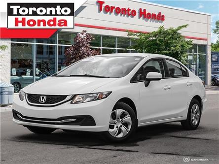 2015 Honda Civic Sedan LX (Stk: H39862A) in Toronto - Image 1 of 27