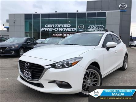 2018 Mazda Mazda3 Sport GS 6sp GS,REAR CAM,ALLOYS,SUNROOF,HEATED SEATS,NO (Stk: P1953) in Toronto - Image 1 of 23