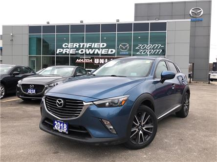2018 Mazda CX-3 GT AWD at NAVI,LEATHER,SUNROOF,ALLOYS (Stk: P20015) in Toronto - Image 2 of 25