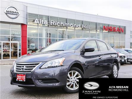 2015 Nissan Sentra 1.8 SV (Stk: RY20R146A) in Richmond Hill - Image 1 of 21