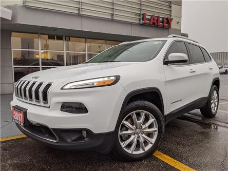 2017 Jeep Cherokee Limited (Stk: KSPO1972A) in Chatham - Image 1 of 21