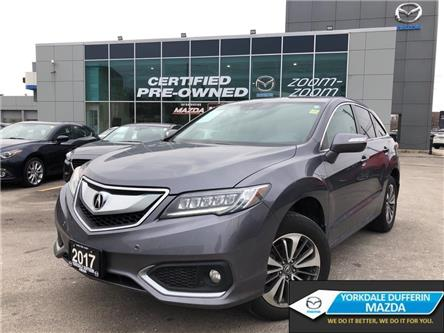 2017 Acura RDX Elite at PACK,AWD,NAV,LEATHER,PANOROOF,ALLOYS,NO A (Stk: P1959) in Toronto - Image 1 of 25