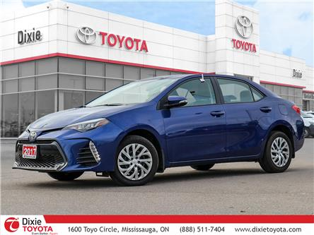2017 Toyota Corolla SE (Stk: 72317) in Mississauga - Image 1 of 28