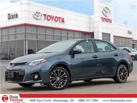 2016 Toyota Corolla S (Stk: D200397A) in Mississauga - Image 1 of 29