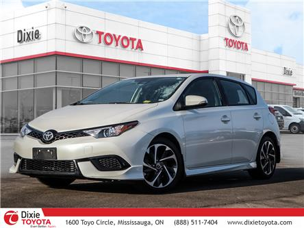 2017 Toyota Corolla iM Base (Stk: D192292A) in Mississauga - Image 1 of 27
