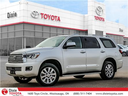 2018 Toyota Sequoia Platinum 5.7L V8 (Stk: 72338) in Mississauga - Image 1 of 30