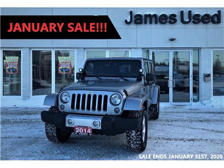 2014 Jeep Wrangler Unlimited Sahara (Stk: N19295A) in Timmins - Image 1 of 14