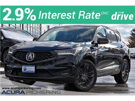 2020 Acura RDX A-Spec (Stk: AU172A) in Pickering - Image 1 of 35
