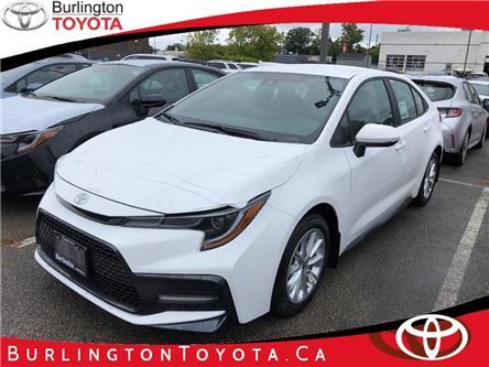 2020 Toyota Corolla SE (Stk: 202150) in Burlington - Image 1 of 6