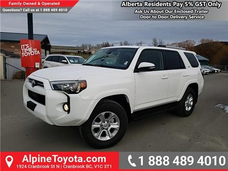 2020 Toyota 4Runner Base (Stk: 5762090) in Cranbrook - Image 1 of 25