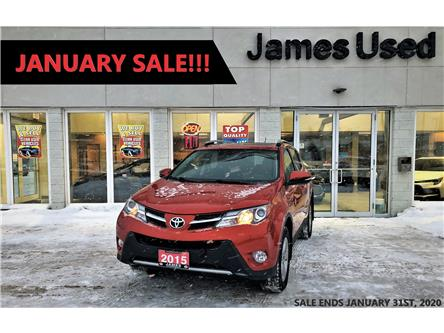 2015 Toyota RAV4 XLE (Stk: P02707) in Timmins - Image 1 of 15