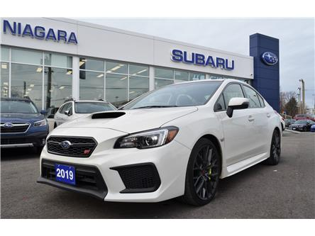 2019 Subaru WRX STI Sport-tech w/Lip (Stk: Z1540) in St.Catharines - Image 1 of 30